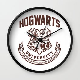 Hogwarts University Wall Clock