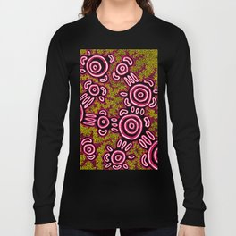 U Belong - Authentic Aboriginal Art Long Sleeve T-shirt