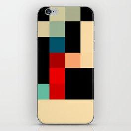 Patchwork I iPhone Skin