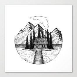 Little Island Canvas Print