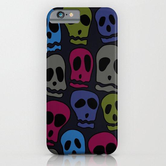 Skulls-3 iPhone & iPod Case