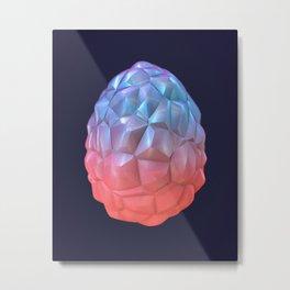Poached Egg Metal Print