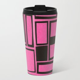 Windows & Frames - Pink Travel Mug