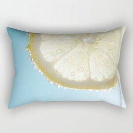Bubbly Lemon Rectangular Pillow