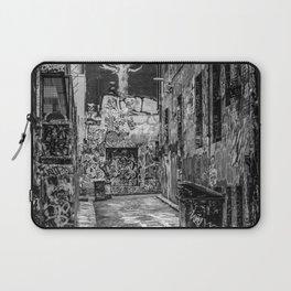 City Life (Black and White) Laptop Sleeve
