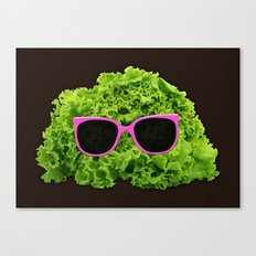 Mr Salad Canvas Print