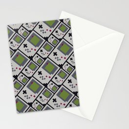 GB PIXEL PATTERN Stationery Cards