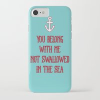coldplay iPhone & iPod Cases featuring You Belong With Me by larlener