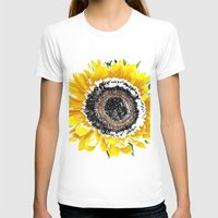 sunflower T-shirts featuring Sunflower by Regan's World