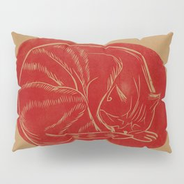 sleeping cat Pillow Sham