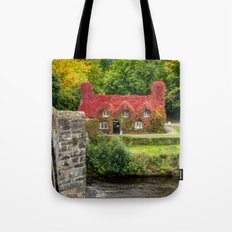 Autumn Cottage Tote Bag