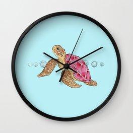 Turtley Too Cool Wall Clock