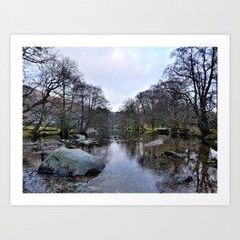 River Brathay 2 Art Print