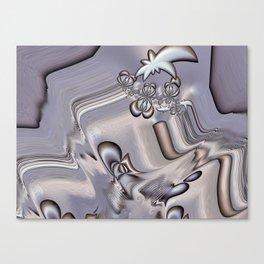 Gnarly Grey Canvas Print