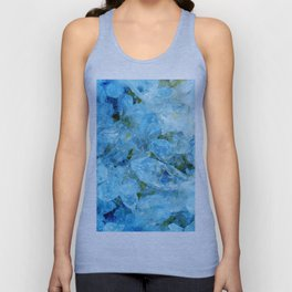 Blue Crystal Unisex Tank Top