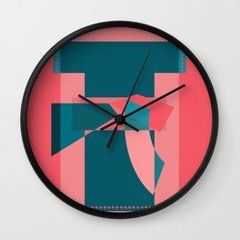 """筒袖 (Kimono) - (della serie """"La Teoria del Colore"""") Wall Clock"""
