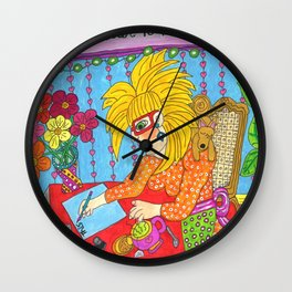 This Is My Letter To The World Wall Clock