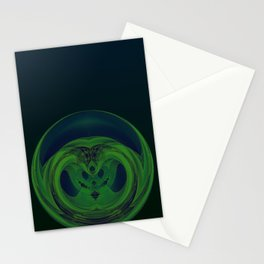 Serpent Orb Stationery Cards