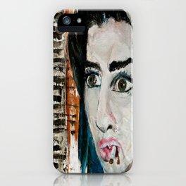 Lauren Nemchik - Winehouse iPhone Case