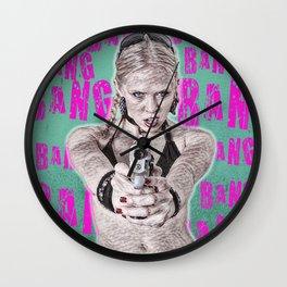 BANG BANG 1 Wall Clock