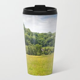 Hillside Cottages Travel Mug