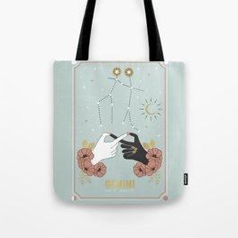 Gemini Zodiac Series Tote Bag