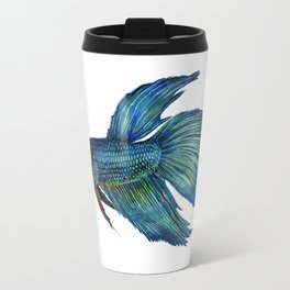 Mortimer the Betta Fish Travel Mug