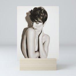 5616 Natasha Au Naturel - Boudoir Eros Studio Beauty Nude Mini Art Print