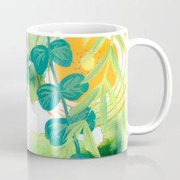 eight flowers in the garden Coffee Mug