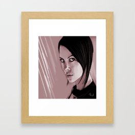 Aeon Flux Framed Art Print