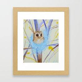 Nesting Tree Framed Art Print