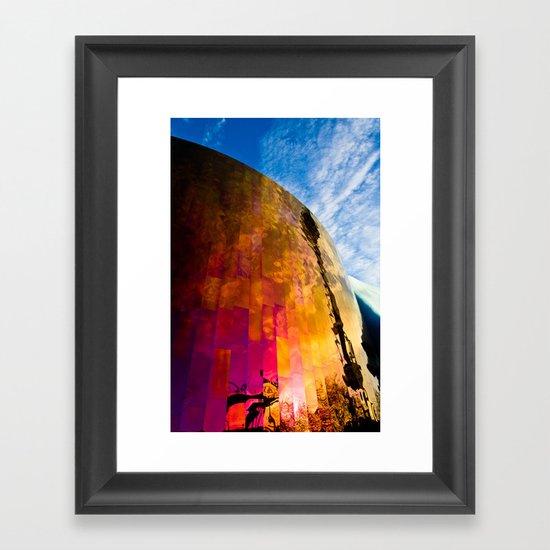 Firewall Framed Art Print