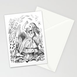 Alice's card attack Stationery Cards