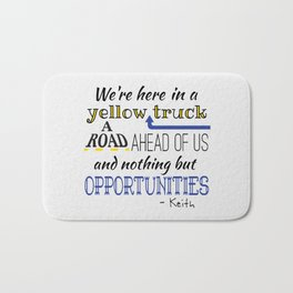 What's the Rush? - Keith Bath Mat