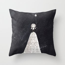 Every Dream Begins With A Dreamer... Throw Pillow