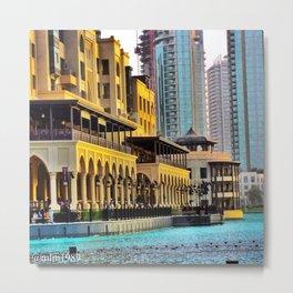Dubai - UAE Metal Print
