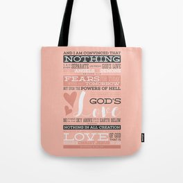 Nothing Can Separate Us From God's Love Tote Bag