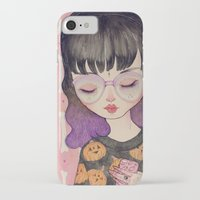 loll3 iPhone & iPod Cases featuring Pumpkin by lOll3