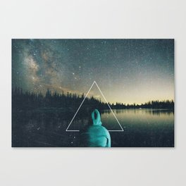 Alone in the Wildnerness Canvas Print