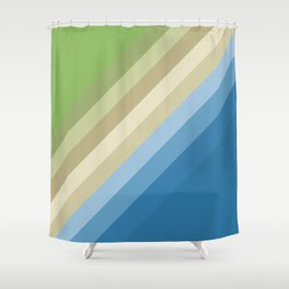 Rainbow of colors 2 Shower Curtain