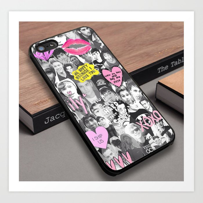 1D One Direction 5 Second of Summer Custom iPhone 6s Case Art Print by cerobuk