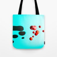 fruits Tote Bags featuring Fruits by Ocso