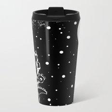 DINOSAUR IN SPACE! Metal Travel Mug