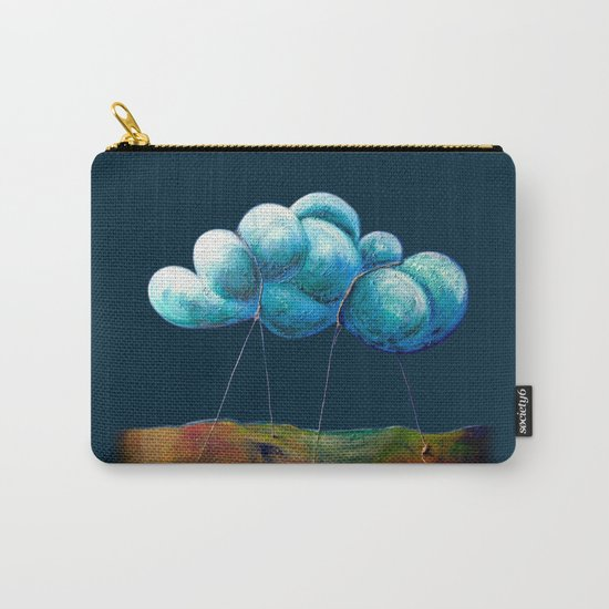 Cloud Tied Carry-All Pouch