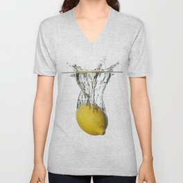 Lemon Unisex V-Neck