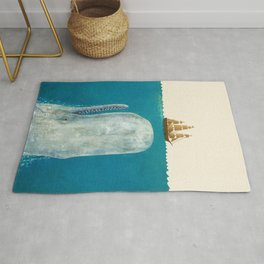 The Whale - colour option Rug