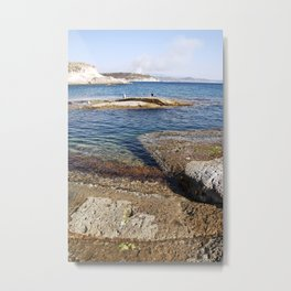 Blue Bay of Sardinia - Italy Metal Print