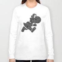 yoshi Long Sleeve T-shirts featuring Yoshi by Martina Erives50