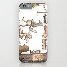 Mr.Brown is late for the market iPhone 6s Slim Case