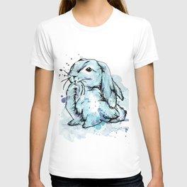 Blue rabbit T-shirt